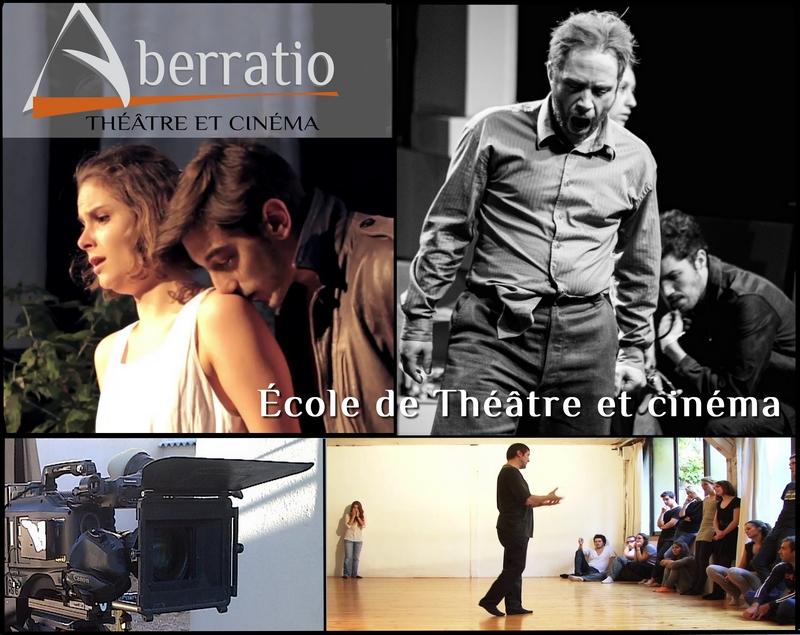 École de théâtre Aberratio - Apprentissage en 3 ans. / devenir comédien, acteur. - Stages et formations Paris - cinéma - théâtre